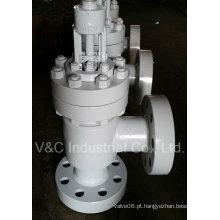 Válvula de globo de extremidade flangeada com válvula manual (Class150 ~ 600) da China