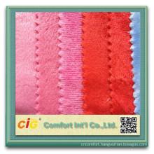 High Quality Short Pile Long Pile Cut Pile Cotton Velour Fabric