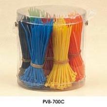 Joint de sécurité en plastique Verrouillage de câble en acier Attache de câble en acier Fabricant en attelage en nylon