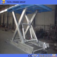Sjg8-1.5 Plataforma de elevación de tijera fija Plataforma de mesa de tijera fija