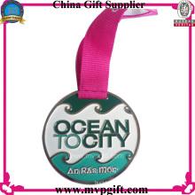 Medalla deportiva a medida con el logotipo del cliente
