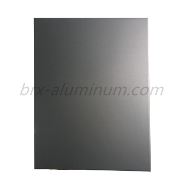 Custom Sandblasted Anodized Aluminum Alloy Sheet