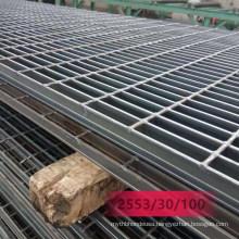 Hot DIP Galvanized Grille I Type Steel Grating/Flat Bar Grating/Serrated Bar Grating