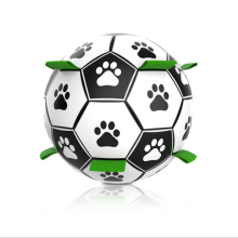 New pet hot-selling 15 cm diameter PU environmentally friendly material interactive pet dog toy ball