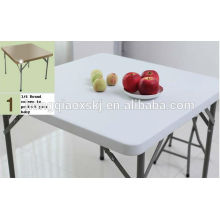 Used out Door Coffee Tableplastic Folding Square Table