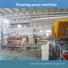 HDF embossed flooring lamination / Flooring production line / Laminate flooring machine