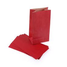 Farbgriff, der kundenspezifische Taschen-kleine Papiergeschenk-Tasche faltet