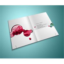Impressão offset Impressão de folheto personalizado Folheto de impressão de brochuras