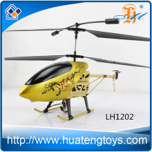 Новый прибывающий вертолет вертолета сплава цвета золота 3.5Ch большой с светом