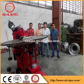 Ovalform Tankkopf Bördelmaschine
