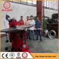 oval shape tank head flanging machine