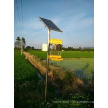 Lampe insecticide solaire à haute efficacité