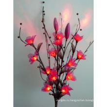 Новый стиль светодиодный искусственный цветок изготовленный на заказ Цвет