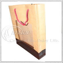 Window Paper Bag with Kraft Paper