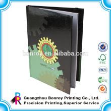 Cuadernos a granel baratos impresos personalizados con banda elástica