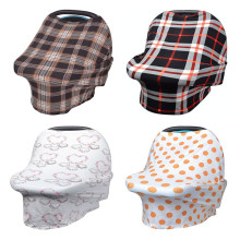 melhor capa de enfermagem de bebê de tecido em cobertura de maternidade
