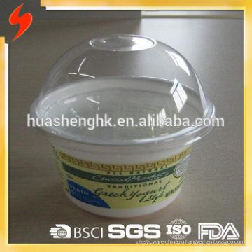 Заводская цена Пищевой прозрачный пластиковый одноразовый стаканчик на 8 унций / 230 мл с крышками для оптовой продажи