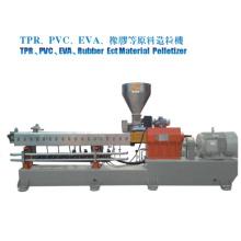 EVA de particules. Machine de fabrication de matériaux pour chaussures en PVC
