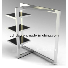 Foldable Stainless Steel Clothes Hanging Rack/Exhibition for Garment (GDS-003)