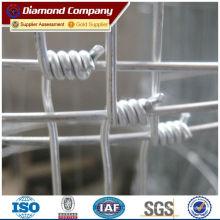 Clôtures métalliques à boucle pour clôture de prairie