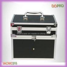 Estilo de alça preta travando alumínio transportando caso para unha polonês (saccom015)