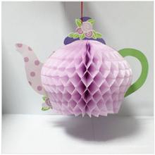 Arts Supplier Party Decoration Papel Kraft Honeycomb