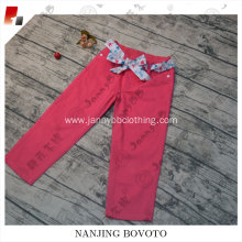 2017 children unique fashion design pant jeans