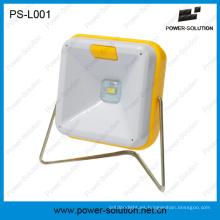 Lámpara de lectura LED portátil tabla Solar de iluminación Solar interior