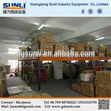 Высокий объем секционные Mezzanine пол склада конструкционная сталь