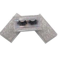 SL018H Hitomi Natural Looking 3d Mink Eyelashes soft natural mink eyelashes Fluffy 25mm Magnetic Mink Eyelashes