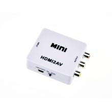 Портативные и гибкий мини-HDMI конвертер Cvbs