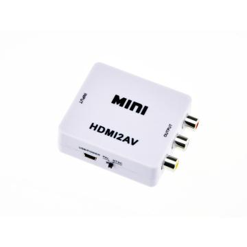 Portable and Flexible Mini HDMI to Cvbs Converter