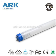 DLC UL VDE listed 4000k 5000k 6000k 5 years warranty 150lm/w T8 All PC led tube