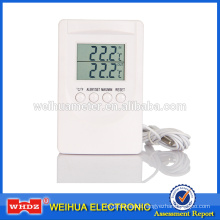 Digital Thermometer with CE&ROHS Temperature Alarm Setting Indoor&outdoor Test OEM Carrefour TM201