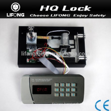 Electronic digital combination safe lock for metal safe box