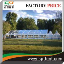 Königliches Partyzelt mit haltbarem Aluminiumlegierungsrahmen für Hochzeitsfest und im Freienereignisse