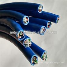 Conductor CCA de 0.5mm UTP Cat6 LAN Cables para STB
