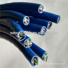 Cabo CCA UTP Cat6 de 0,5 mm para cabos LAN para STB