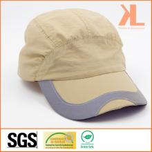 Polyester Taslon Helmet Cap with Reflective Tape on Peak