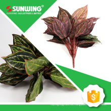 ramas y hojas artificiales a prueba de UV de China para la decoración del supermercado