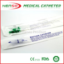 HENSO Disposable Sterile PVC Control Suction Cannula