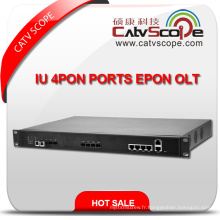 Fournisseur professionnel High Performance Iu 4pon Ports Epon Olt