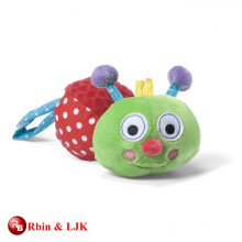 Oruga encantadora promocional de encargo del juguete del bebé