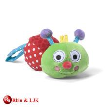 custom promotional lovely baby toy caterpillar
