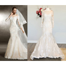 New Arrival Fit and Flowy Wedding Dress