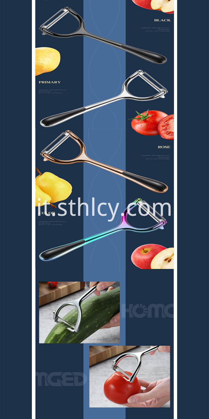 vegetable peeler cutter