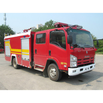 ISUZU  Foam dry powder fire engine truck