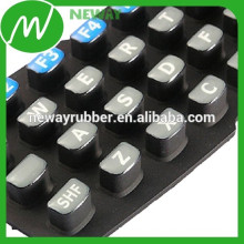 Universal de uso de alta calidad de caucho de goma del teclado