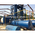 Pirólisis de neumáticos de bicicleta de aire caliente de alta eficiencia para equipos petroleros