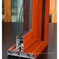 Polishing Wood Grain Construction Aluminum Window Door Profile Aluminium Profile